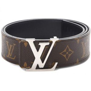 Louis Vuitton Monogram Belt w/ Initials